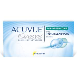 Acuvue Oasys for Presbyopia with HYDRACLEAR PLUS